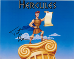 Tate Donovan, Hercules (voice),   genuine signed autograph,  10446